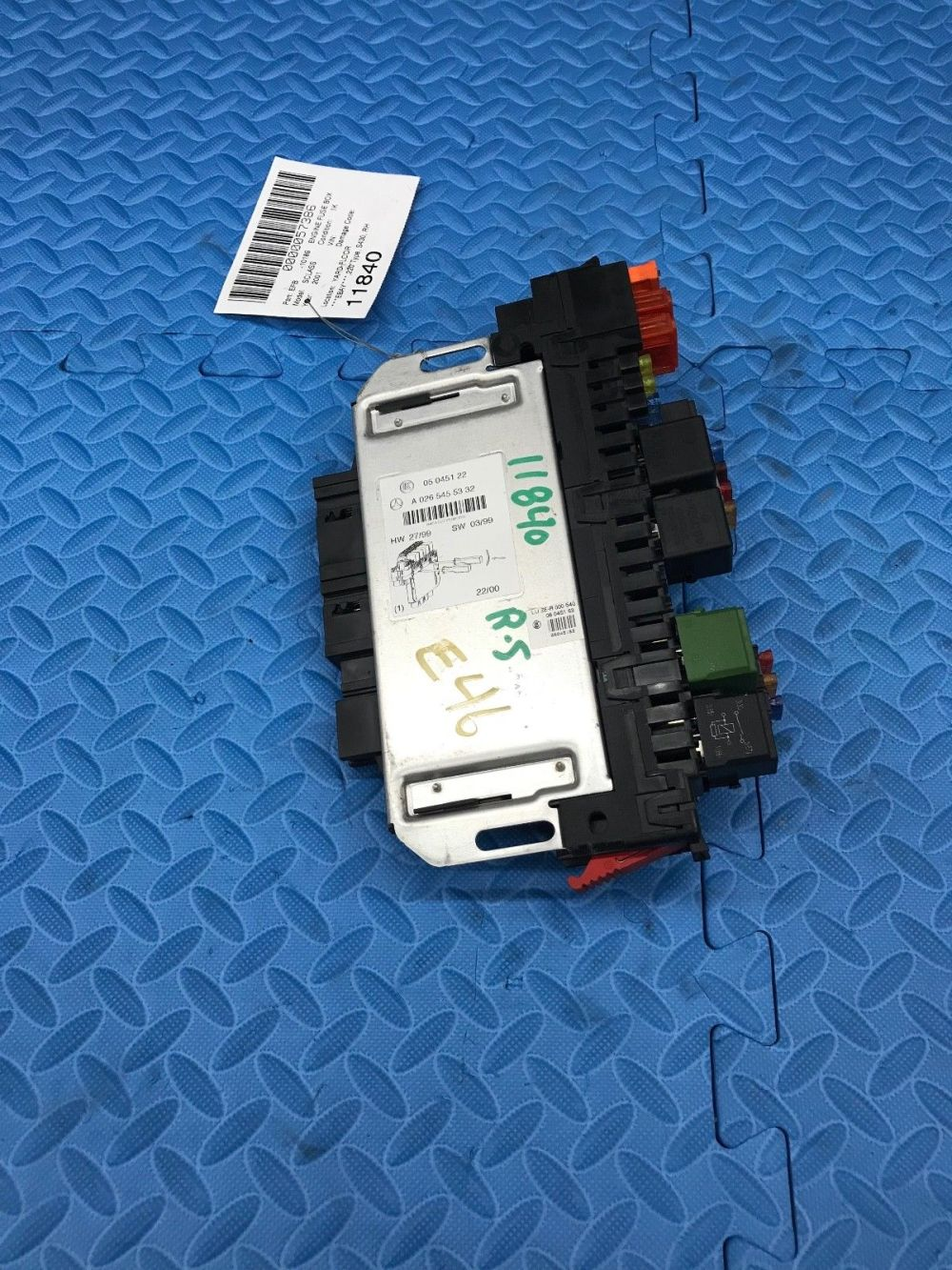 medium resolution of mercedes benz s class sam power relay fuse junction box module a0265455332 does not apply