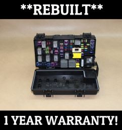 rebuilt 2011 liberty nitro tipm temic integrated fuse box module 04692331ae does not apply 1029  [ 1024 x 1024 Pixel ]