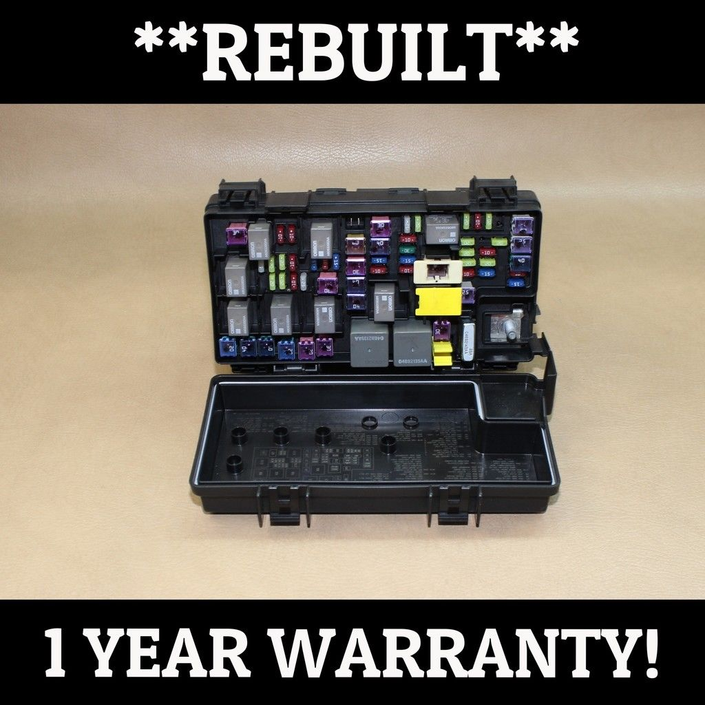 hight resolution of rebuilt 2011 liberty nitro tipm temic integrated fuse box module 04692331ae does not apply 1029