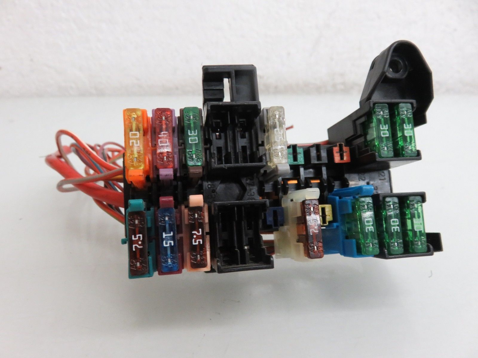 hight resolution of 03 09 mercedes benz w209 clk500 clk320 dash left fuse box relay unit oem