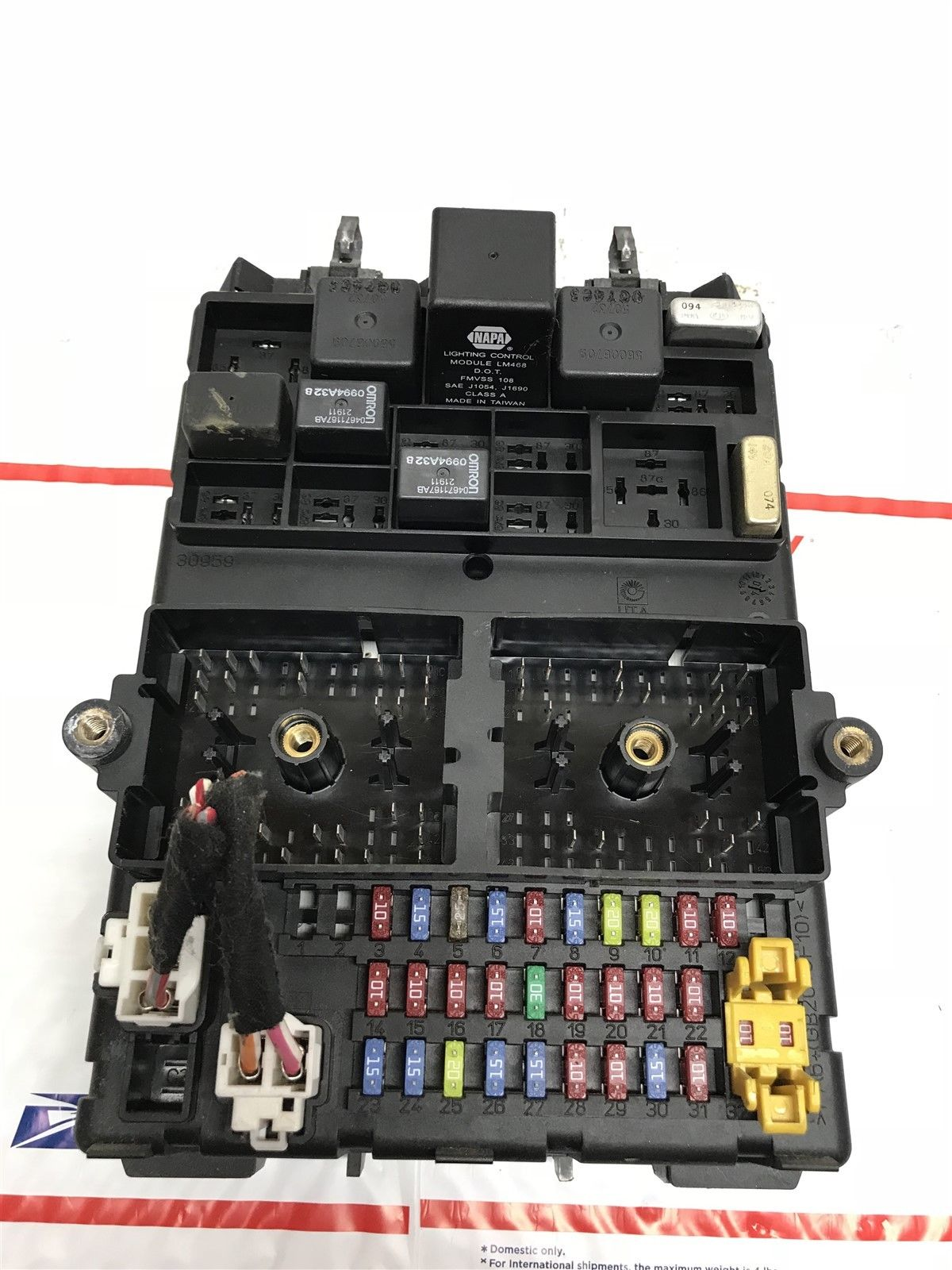 hight resolution of 2004 jeep grand cherokee body control module fuse box bcm bcu oem 56050231ai does not apply