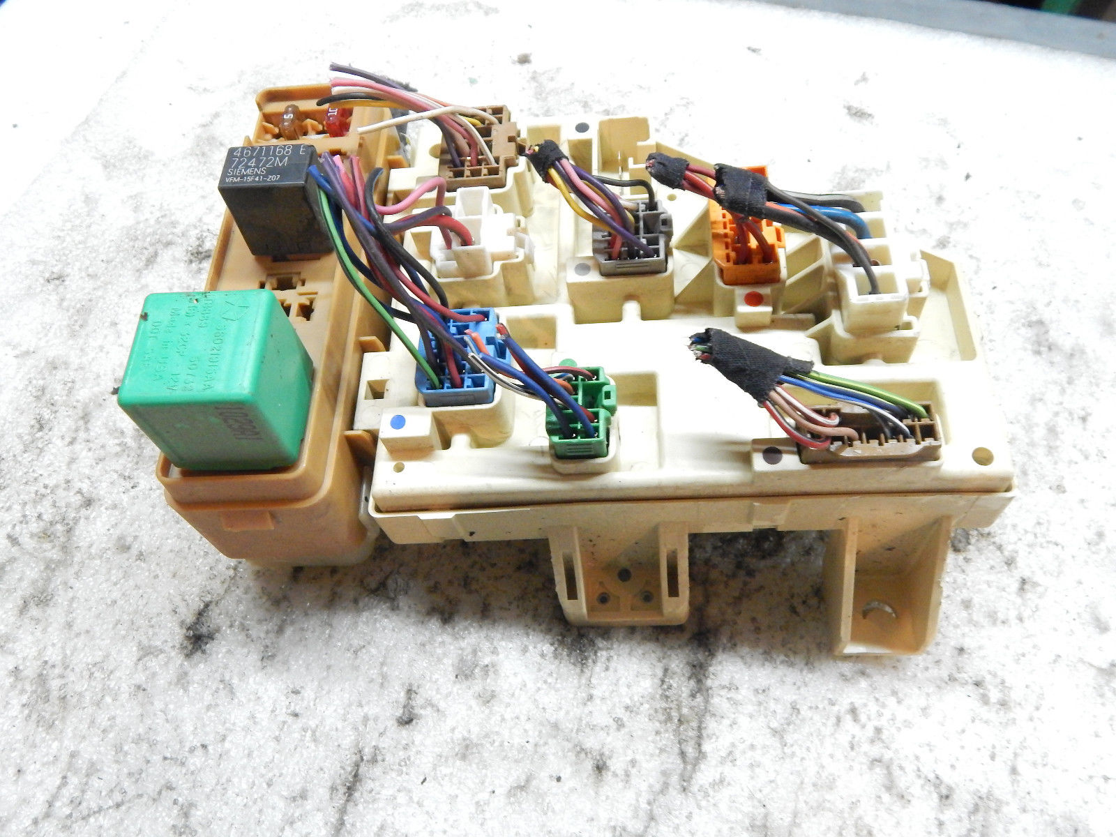 hight resolution of wrg 4500 03 durango fuse box