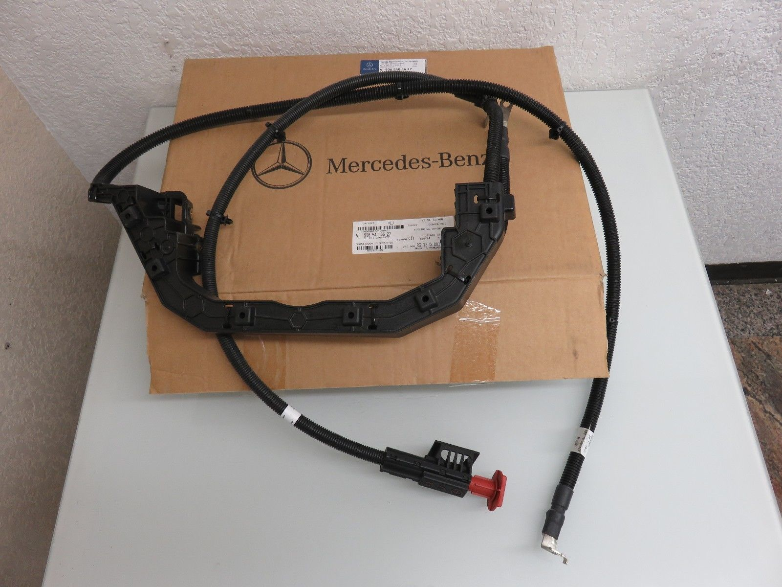 hight resolution of new genuine mercedes benz sprinter 2500 3500 906 electrical wiring cable harness 9065461061