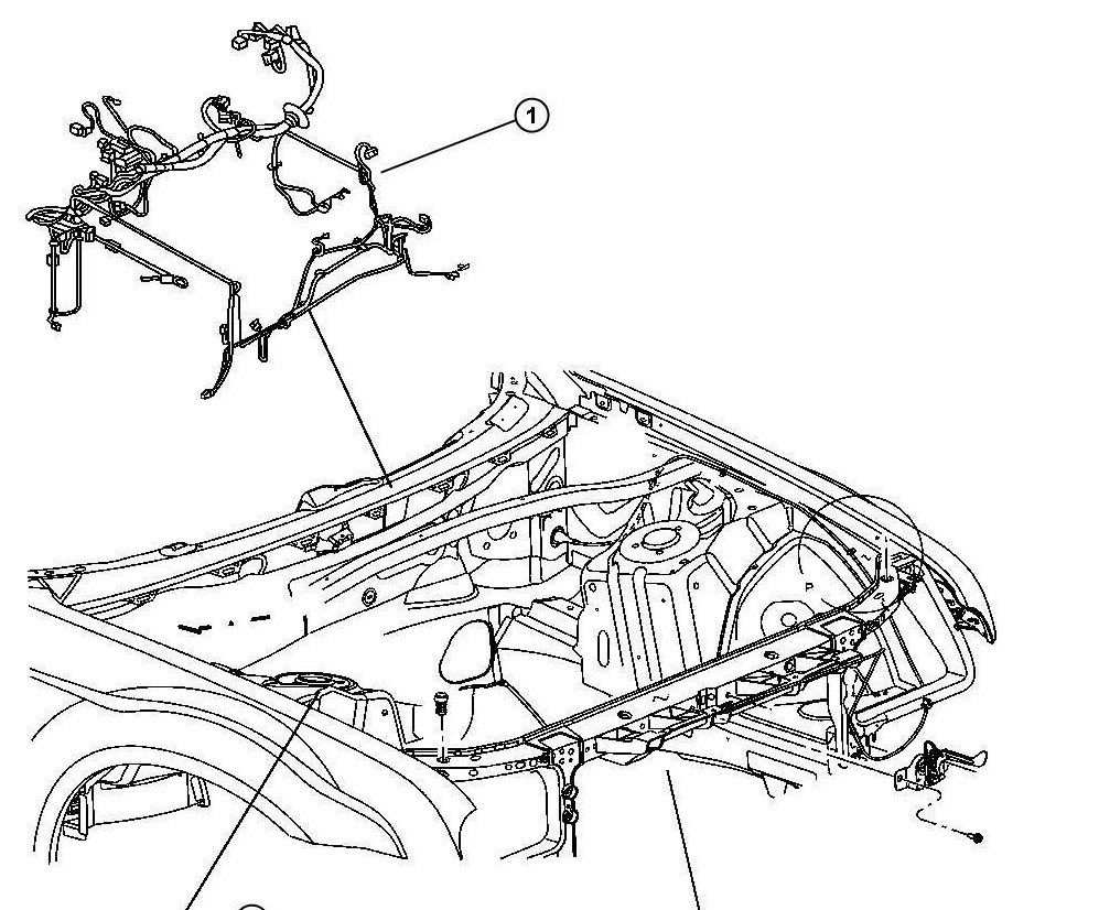 roger vivi ersaks: 2008 Charger Wiring Harness