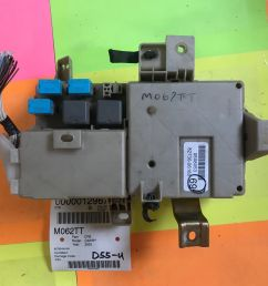 05 toyota camry dash cabin fuse box 82730 06160 oem m062t 82730 06160 [ 1600 x 1200 Pixel ]