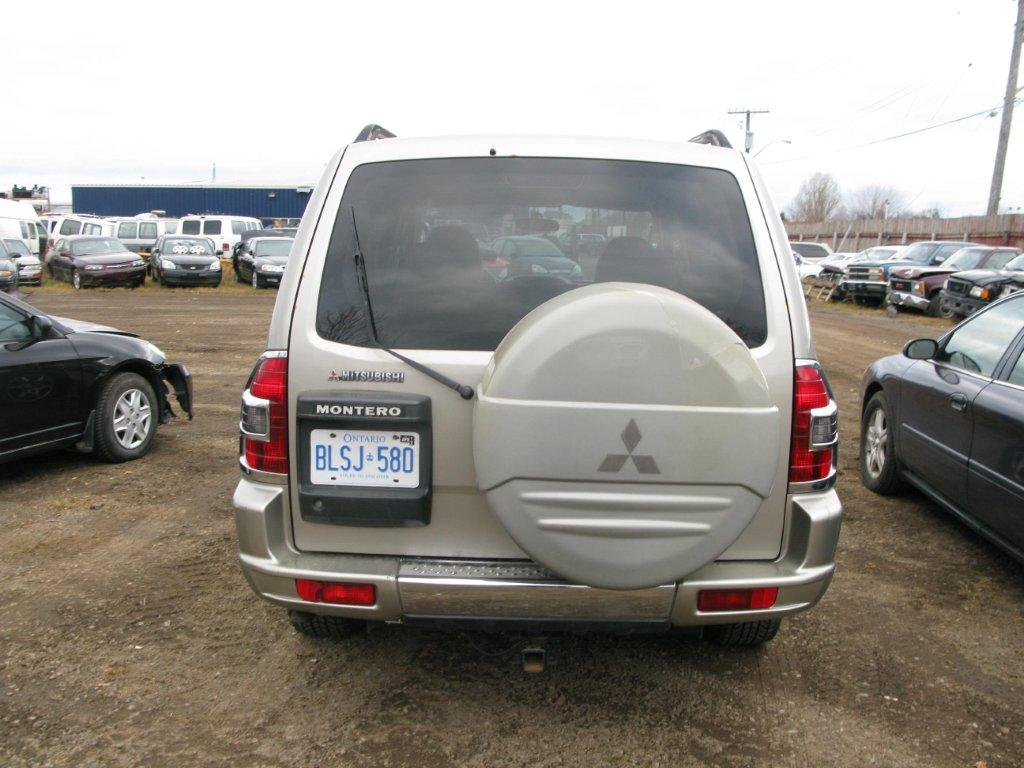 hight resolution of mitsubishi montero 2001 for parts