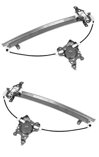 PAIR FRONT DOOR WINDOW REGULATOR 95 96 97 98 99 NISSAN