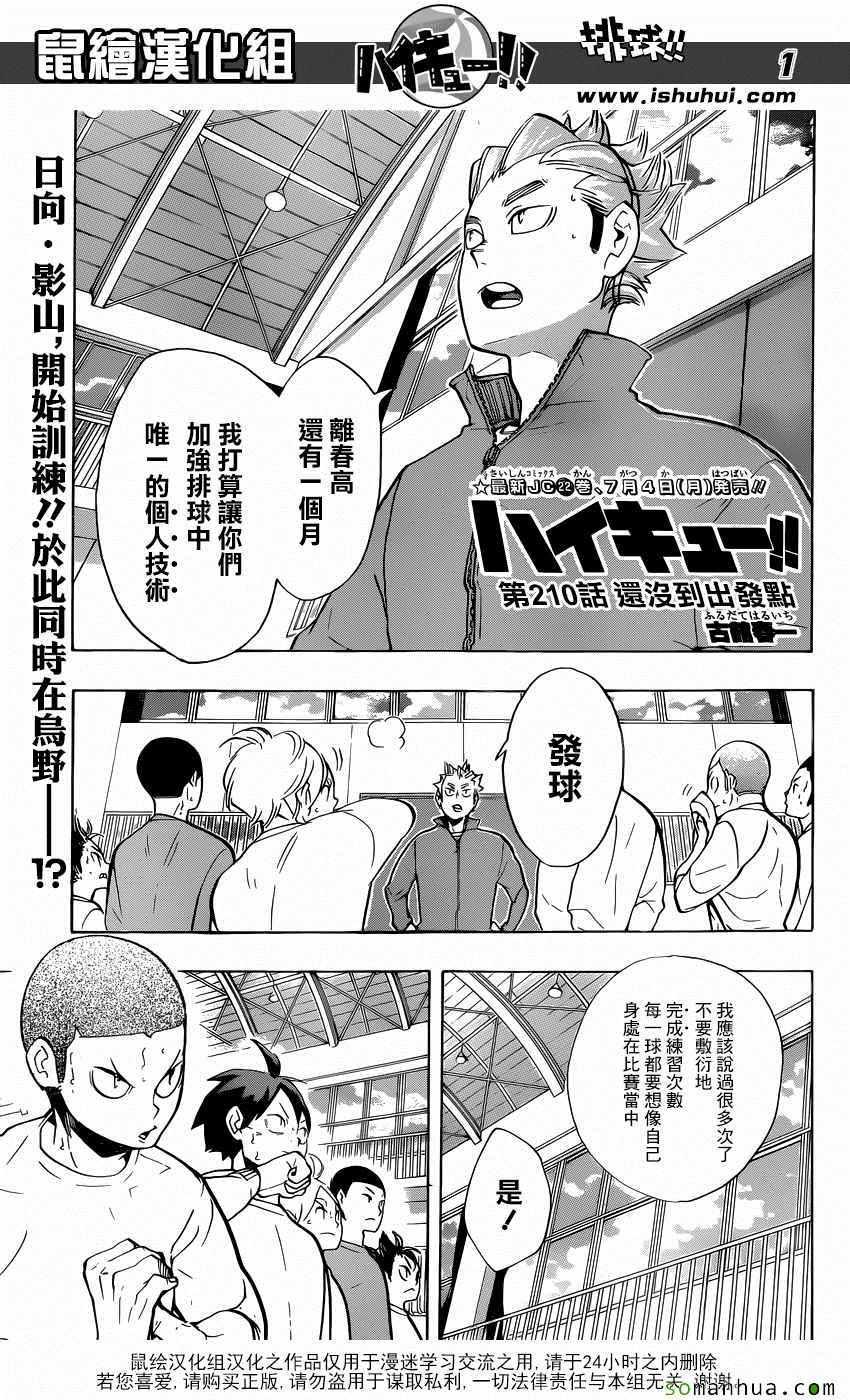 排球少年(ハイキュー!!)漫畫210話(第1頁)_排球少年210話劇情-看漫畫