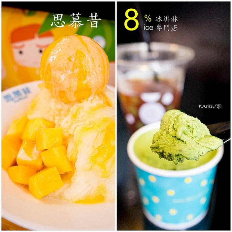 [台北。大安區] 永康街思慕昔 & 8%ice 冰淇淋專門店