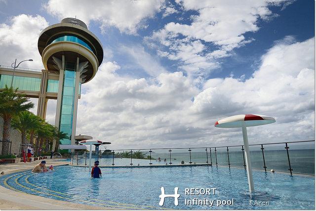[屏東。住宿] H Resort H會館 part3 無邊際泳池
