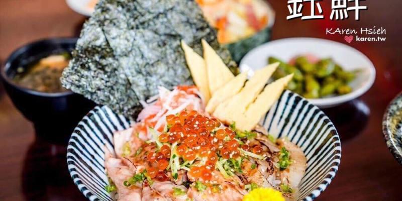 日本料理 | 台中北屯區| 鈺鮮創意日式料理。超值丼飯,新鮮又澎湃 (二訪)