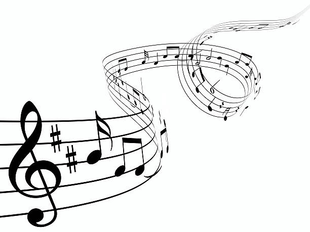 曲線 楽譜 のスマホ壁紙[ID:182924293]『3 D 音楽のメモ』  壁紙.com