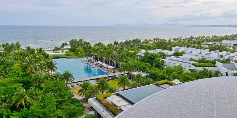海南島住宿 | 藍灣綠城威斯汀度假酒店-躺在床上就能欣賞無敵海景,真是一間能羨煞朋友的優質飯店。