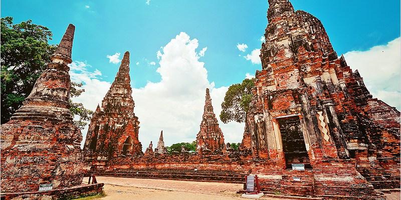 泰國大城必去景點 | 柴瓦塔那蘭寺(貴妃寺)-大城府保存完整且雄偉的寺廟之一,高棉式建築,有如小吳哥窟的FU。
