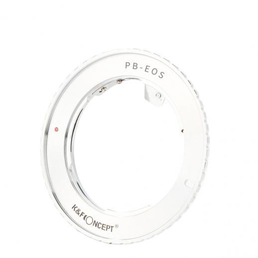 K&F Concept Praktica B Lenses to Canon EF Mount Camera Adapter