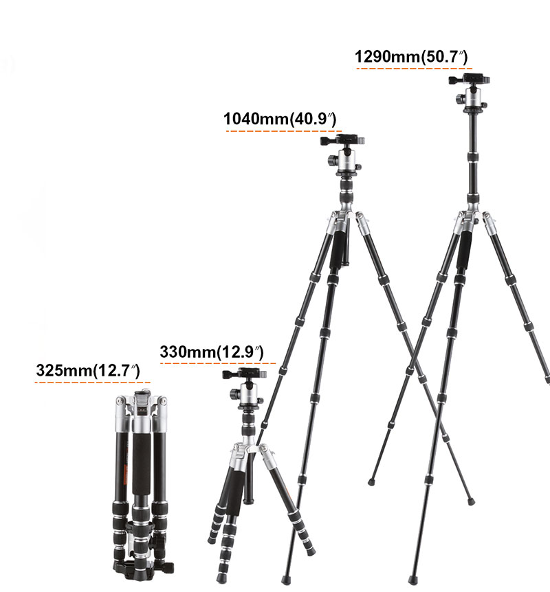K&F Concept TM2235 Lightweight Aluminium DSLR Camera