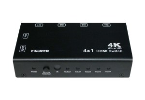 4x1 HDMI Switch With PIP ,4K, Remote Control_