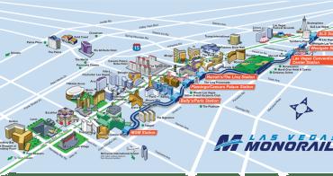 拉斯維加斯(Las Vegas)交通總整理, 機場到市區、免費停車、輕軌、巴士、公車、租車一篇全搞定!!