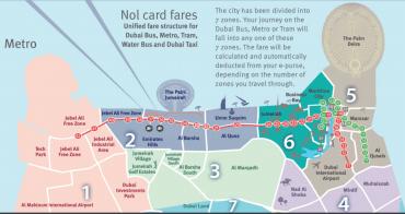 杜拜(Dubai)交通攻略 | 杜拜機場到市區、捷運地鐵、計程車、UBER、Nol Card交通卡全整理!