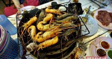 芭塔雅美食 | 泰國蝦吃到飽,活蝦、海鮮、烤肉、貝類,399泰銖芭塔雅豪爽的泰國蝦吃到飽!!