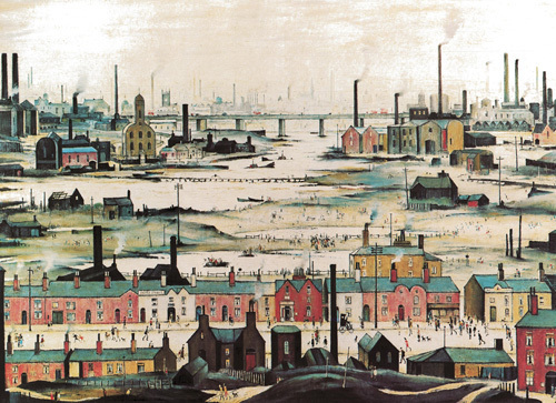 industrial landscape 1950 art