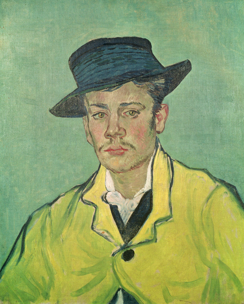 Portrait of Armand Roulin. 1888 Art Print by Vincent Van Gogh   King & McGaw