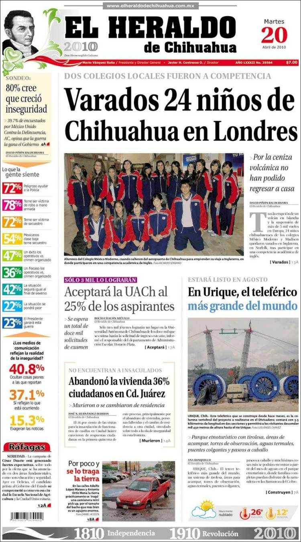 El Peso De Chihuahua Newspaper