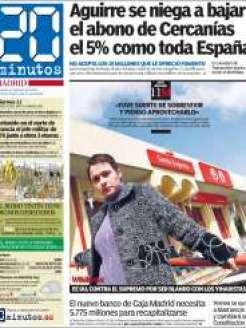 Diario 20Minutos Madrid 11 Marzo 2011