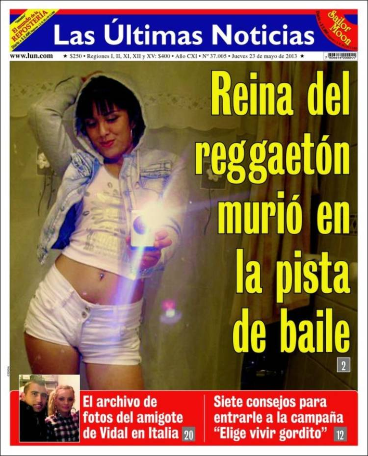 Please allow 10 extra days for deliver*. Periódico Las Últimas Noticias (Chile). Periódicos de