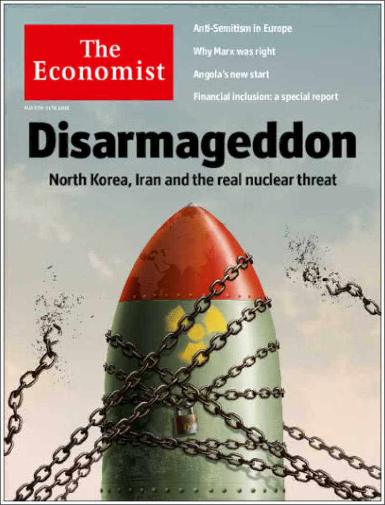 Portada de The Economist (United Kingdom)