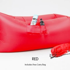 Air Bag Chair Stretch Dining Covers Uk Wallaroo Lazy Lounge Inflatable Sleeping Camping