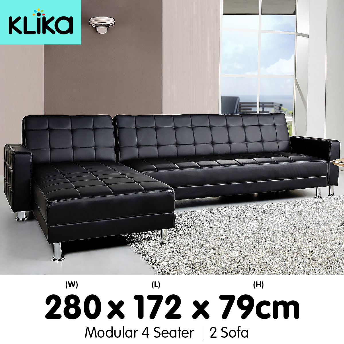 antwerp chaise sofa bed lounge furniture leicester corner couch modular home pu