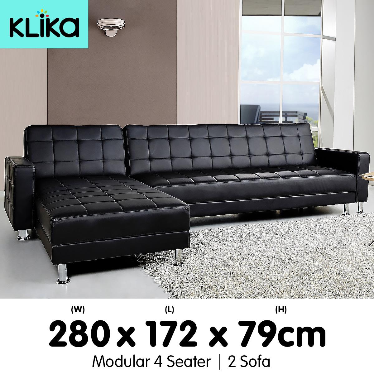corner lounge sofa bed recliner josain sectional couch modular furniture home pu