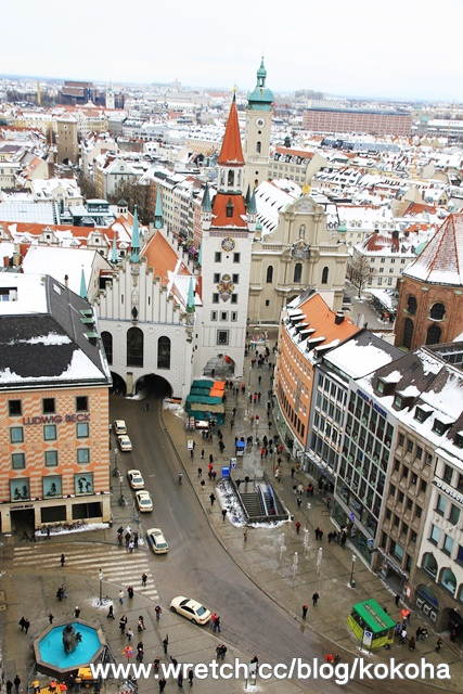 【德國】慕尼黑~一天把市區景點走透透 - 豬飛小姐的彩色生活