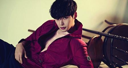 Lee Jongsuk on fashion magazine cover