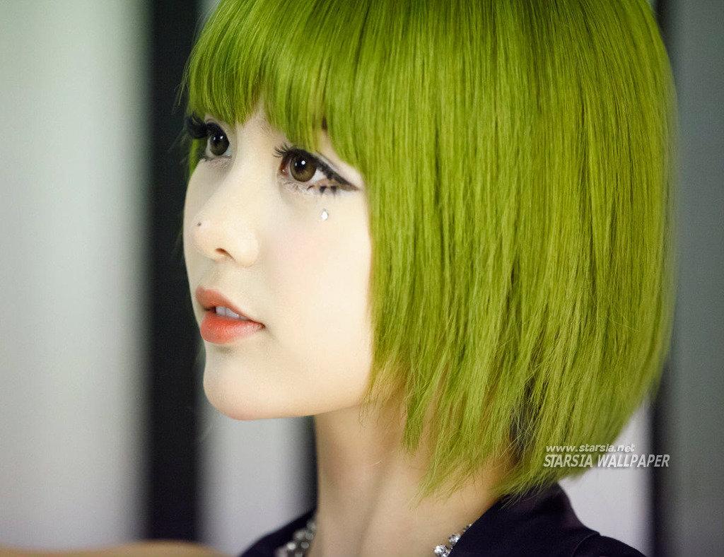 綠色頭 髮最好看的14位KPOP IDOL - SeoulSunday.com