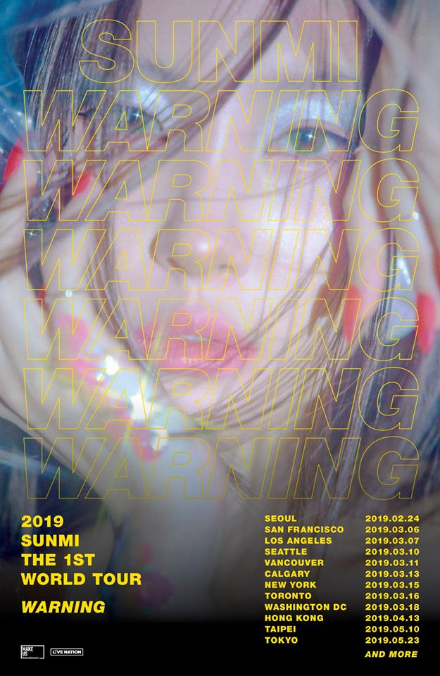 KPOP SunMi World Concert Tour 2019 - KPOP KSTYLE