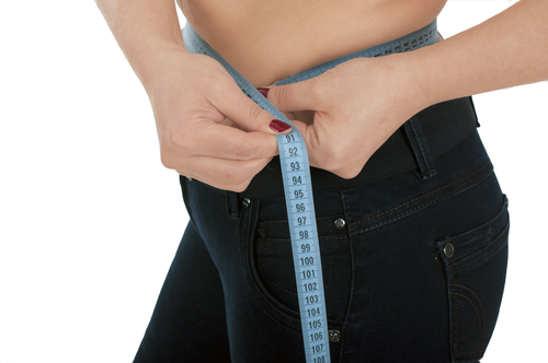 woman jean weight loss