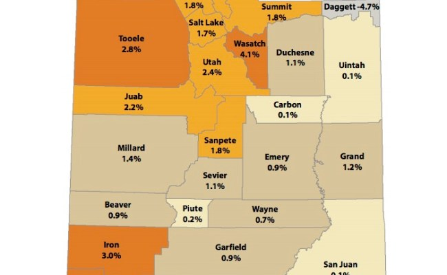 Utah Population Grows By Nearly 60k Wasatch County Sees Fastest Rise Ksl