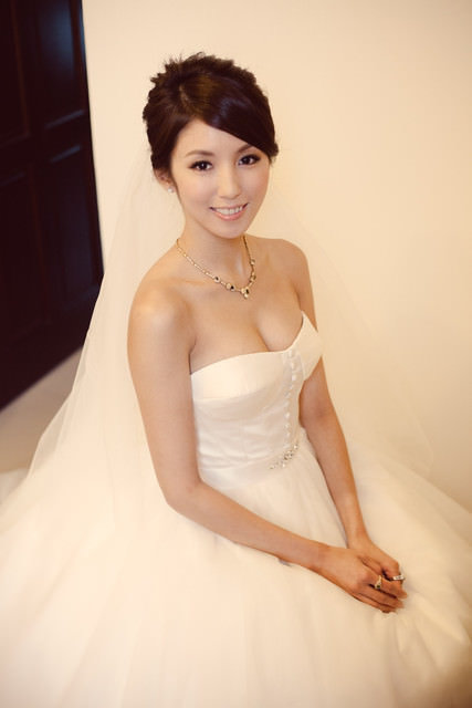 <婚紗>我的量身訂製的完美婚紗分享。