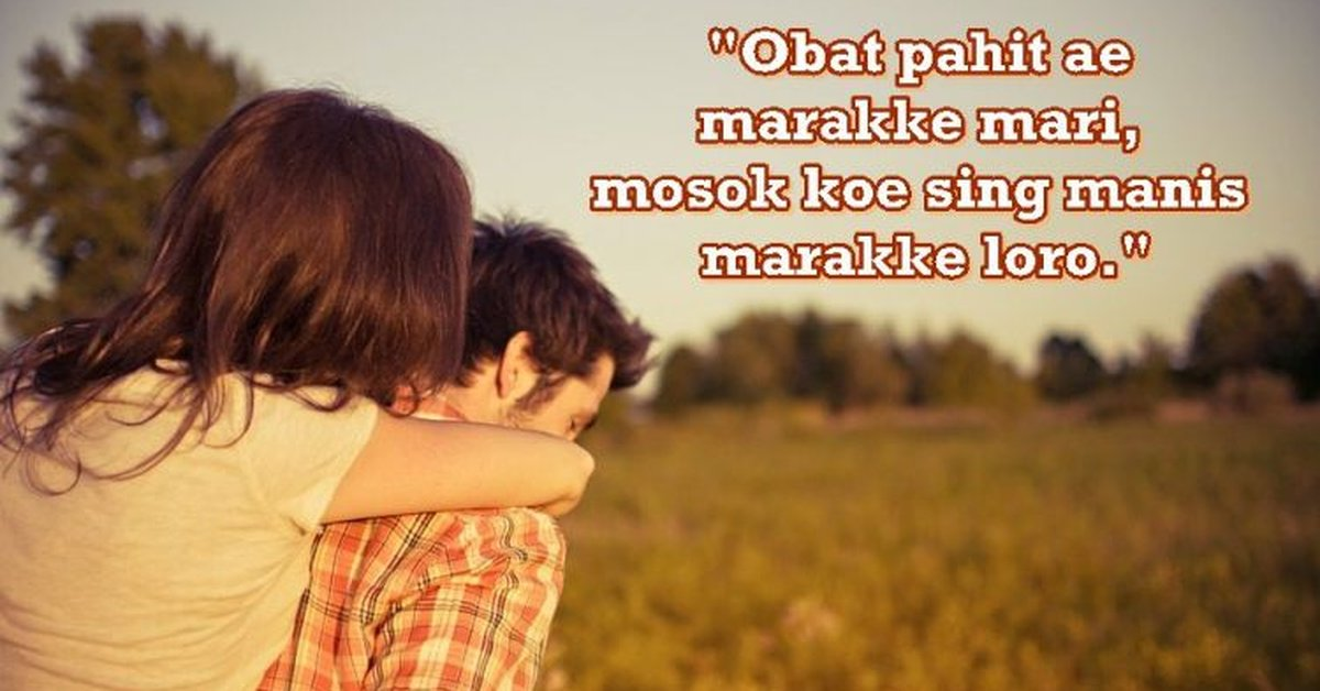 40 Kata Kata Gombal Bahasa Jawa Dan Artinya Romantis Lucu Kurio