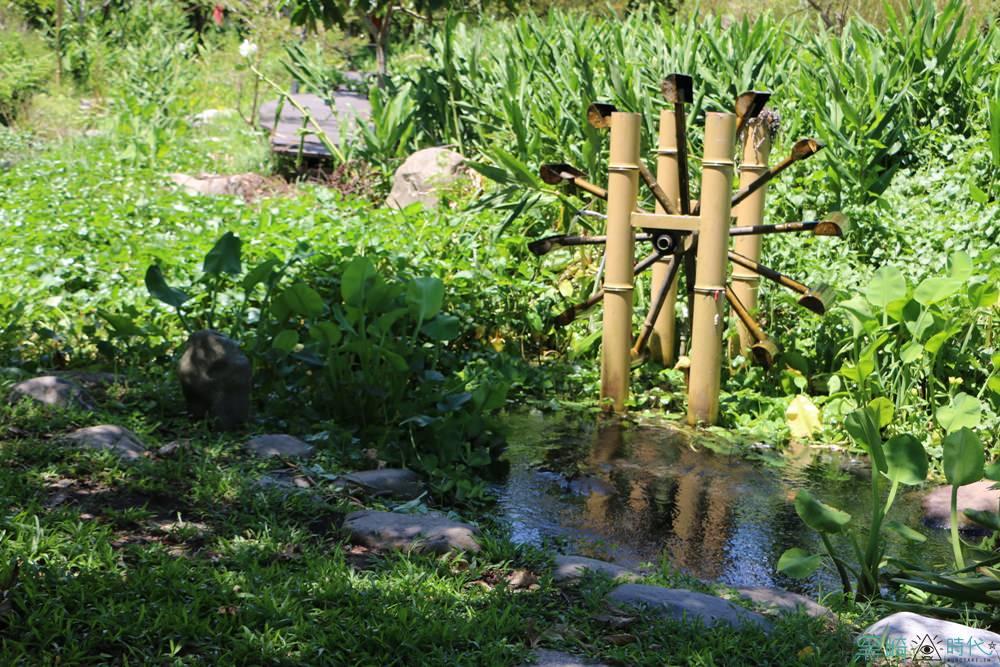 宜蘭員山 花泉有機休閒農場 親子玩水好去處 獨特野薑花限定冰沙 - 黑崎時代