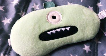 DreamKiss甜言夢語 小怪獸眼罩usb 三段式加熱懶人熱敷救星 隨身攜帶旅行小物