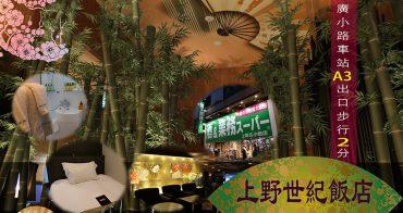 東京住宿 | 上野世紀飯店・交通美食購物便利性一級棒|職業代購與購物狂進貨都住這裡