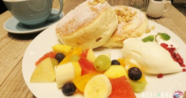 福岡人氣第一名・Cafe del SOL 舒芙蕾鬆餅・馬斯卡彭乳酪醬佐季節水果口味