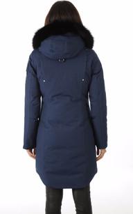 Parka Stirling Bleu Marine Femme Moose Knuckles La