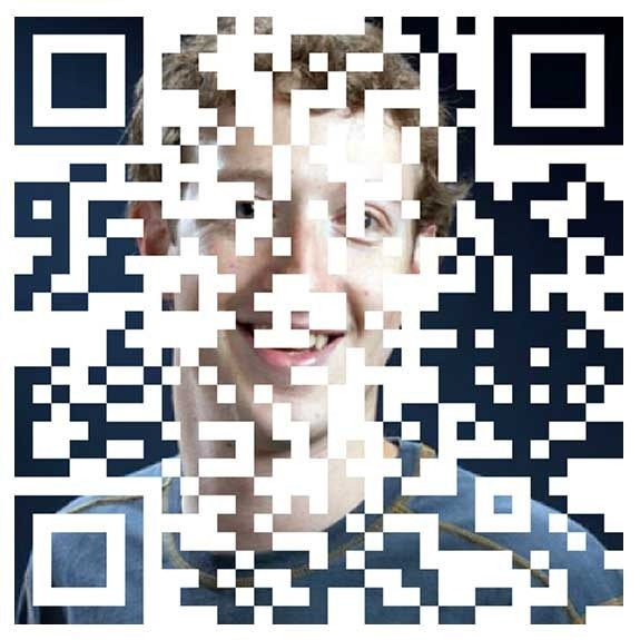 QR Code with Picture