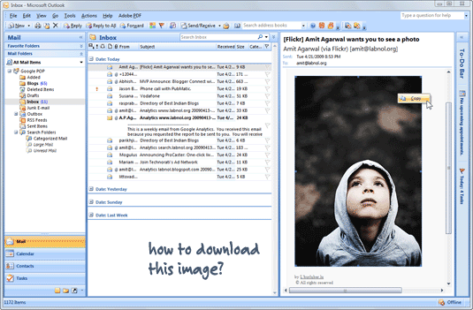 download outlook pictures