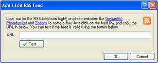 Add the RSS Feed from Windows 7 Theme