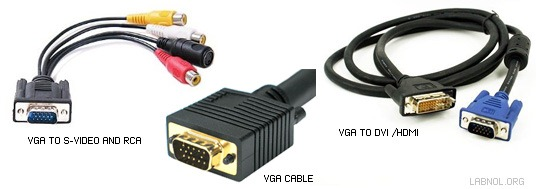 VGA cables and converters